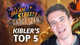 Download (Hearthstone) Kibler's Top 5 from Mean Streets of Gadgetzan Video