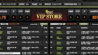Download RotoGrinders DraftKings Extension Demo Video