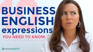 Download 10 Business English Expressions You Need To Know | Vocabulary Video