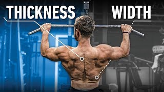Download How To Train Back WIDTH vs THICKNESS (Close vs Wide Grip? Rows or Pullups?) Video
