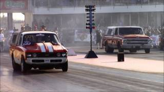 Download Street Outlaws Farmtruck vs Mini Farmtruck at American Outlaws Live Video