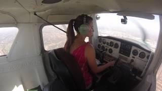 Download My Solo Flight in the traffic pattern Video