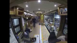 Download Tiffin Allegro Bus 45LP Build Time Lapse - Complete Full Build Video