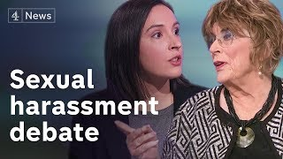 Download Sexual harassment debate: Where should the line be drawn? Video