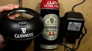 Download Inside a Guinness surger unit. Video