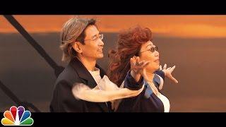 Download Tonight Show Sidewalk Cinema: Mary Poppins, Titanic Video