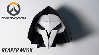 Download OVERWATCH - Origami Reaper's Mask Tutorial (for Halloween) (Henry Pham) Video
