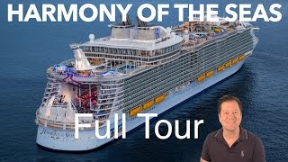 Download Harmony of the Seas Review - Full Walkthrough - Cruise Ship Tour - Royal Caribbean Video