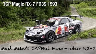 Download D1 Drift Car Mad Mike's JAPBUL TCP Magic FD3S RX-7 in Detail Video