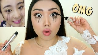 Download EXTREME LASHES Viral Asian Mascara Tested !!! Video