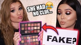 Download GUESSING REAL vs FAKE MAKEUP PRODUCTS! Video