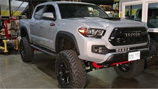 Download 2017 TRD PRO Tacoma: 6″ BDS, 35″ Toyo MTs on 20x9 Fuel Ripper Wheels Video