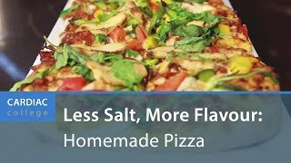 Download How to Make Low Sodium, Homemade Pizza: Cardiac College Video