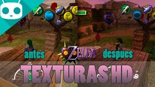 Download The Legend of Zelda: Majora's Mask Texturas HD para Android Video
