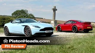 Download Aston Martin DB11 vs Porsche 911 Turbo S | PH Review | PistonHeads Video