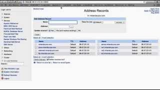 Virtualmin+Webmin virtual host and DNS Binding and FTP account with