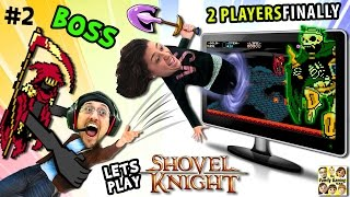 Download THROW MOM IN THE GAME! Let's Play SHOVEL KNIGHT #2: Specter Knight Boss Battle (FGTEEV Sillyness) Video