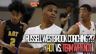 Download Russell Westbrook Coaching During 18pt Comeback!!! | A.O.T vs Team Why Not Video