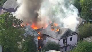 Download Пожар на Борщаговке. Киев 27.08.17 Video