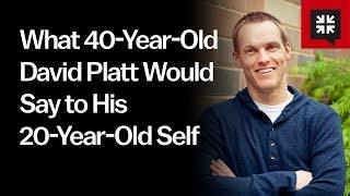 Download What 40-Year-Old David Platt Would Say to His 20-Year-Old Self // Ask Pastor John with David Platt Video