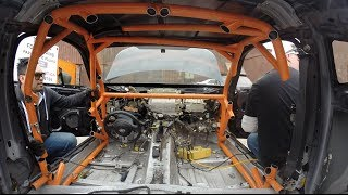 Download Never cut out an old Roll Cage! - Targa Newfoundland Scion FR-S Build Ep.1 Video