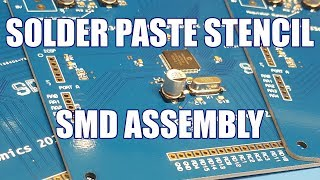 Download SDGEE #046 SMD Assembly Using Solder Paste Stencil and Hot Air with PCBs from JLCPCB Video