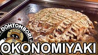 Download How to make Okonomiyaki [Dohtonbori] Video