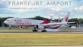 Download FRANKFURT AIRPORT PLANESPOTTING incl LH B747 Retro, A321NEO, EK A380, B767, ATR72 etc. - JUNE 2019 Video