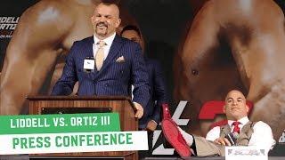 Download Chuck Liddell vs. Tito Ortiz III Full Press Conference Video