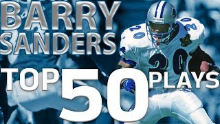 Download Barry Sanders Top 50 Most Ridiculous Plays of All-Time | NFL Highlights Video