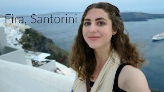 Download Exploring Fira, Santorini! Video