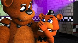 Download CUTEST & TINY Five Nights At Freddy's Animations Compilation FNAF SFM Video