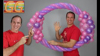 Download marco para fotos gigante para fiestas - decoracion con globos - globoflexia Video