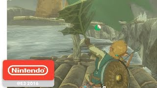 Download The Legend of Zelda: Breath of the Wild - The NES Connection - Nintendo E3 2016 Video