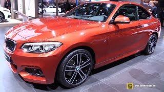 Download 2018 BMW 220d M-Sport - Exterior and Interior Walkaround - 2017 Frankfurt Auto Show Video