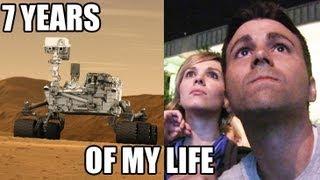 Download NASA's Curiosity landing- 1 of her creator's POV Video