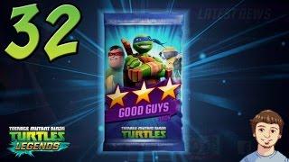 Download Teenage Mutant Ninja Turtles: Legends - PART 32 - Good Guys Pack Opening + Get Free Stuff!!! Video