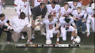 Download UT vs A&M 2011: The Kick Video