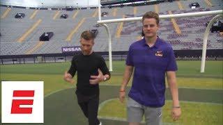 Download Marty Smith walk and talk with LSU QB Joe Burrow | ESPN Video
