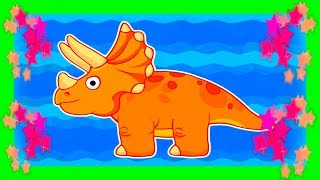 Download 💟 DINOSAURIOS PARA PEQUES 💟 La Isla del Triceratops 💟 Videos Infantiles Video