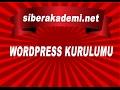Download Wordpress Kurulumu - Ders 1 Video