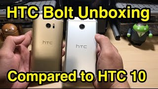 Download HTC Bolt / HTC 10 Evo Unboxing - A Larger HTC 10? (4K) Video