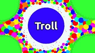 Download Agar.io TROLLING - DON'T TEAM WITH TROLL - BEST AFK AGARIO TROLLING EVER Video