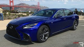 Download 2018 Lexus LS500 F-Sport – An Athletic Twin Turbo Executive Sedan? Video