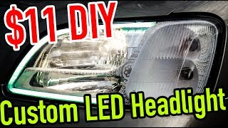 Download How to LED Tube Retrofitted Headlights Video