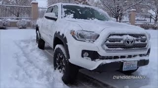 Download 2017 Toyota Tacoma Snow Drive to Go PlaneSpotting Video