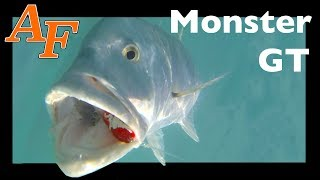 Download Monster GT fishing Toughest Fish in the Ocean Surface strikes EP.373 Video