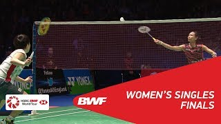 Download WS | TAI Tzu Ying (TPE) [1] vs Akane YAMAGUCHI (JPN) [2] | BWF 2018 Video