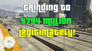 Download GTA Online Grinding To $794 Million Legitimately And Helping Subs Video