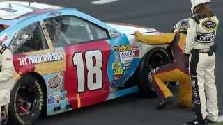 Download Cable Causes Red Flag and Damage for Kyle Busch Video